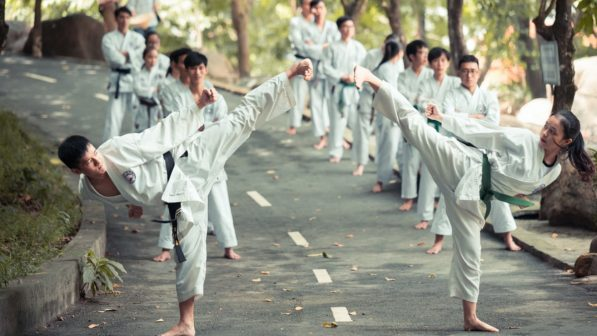you don't need to be a black belt to teach self defense training